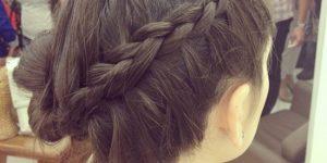 Mas os meus cabelos…