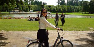 Pedalando em Versailles