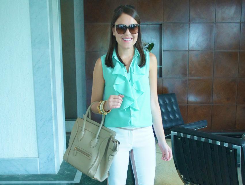 Look-do-dia-Blog-da-Lari-Duarte-.com-LariDuarte-cor-menta-verde-do-verão-Tut's-Tuts-marca-carioca-onde-comprar-?-Rio