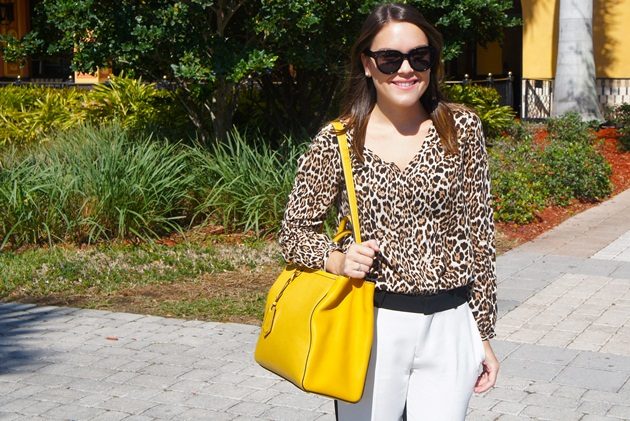 Lari-Duarte-blog-Miami-Sawgrass-Outlet-look-black-white-leopard-chanel
