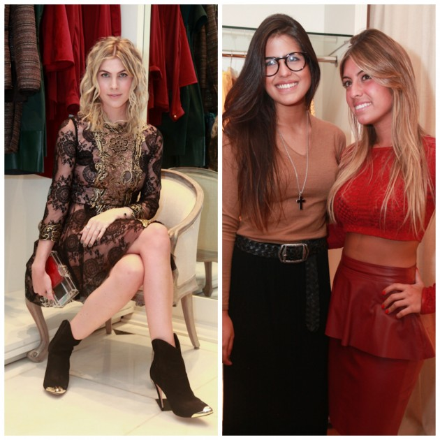 Julia Faria, Antonia Morais e Joana Sobral