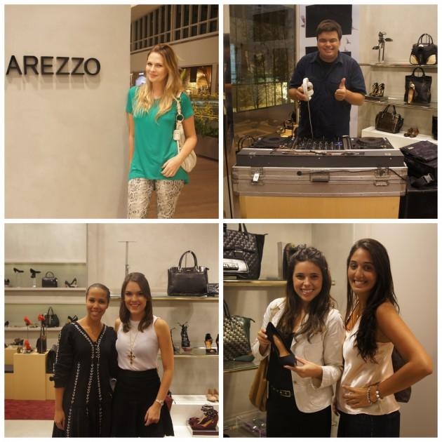 Gabi Weihermann, DJ, com a querida Luzia Cardoso, Madu Coutinho e Babi Gazal