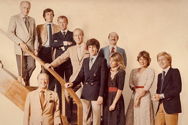 Família Gucci em seus tempos de total poder da marca