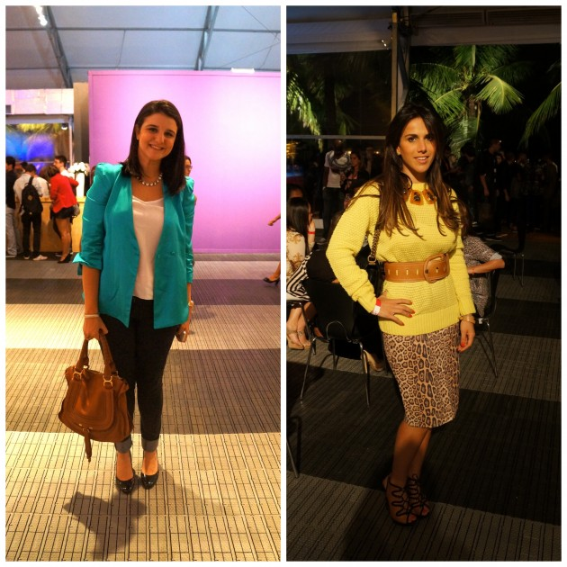 Joana Cannabrava do blog F-utilidades e Dani Bernardes dona do Guipireshop