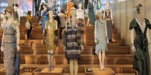 Exposição: figurino Gatsby na Prada