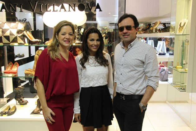 Bianca Gibbon, Dani Villanova e Arnaldo Gonçalves