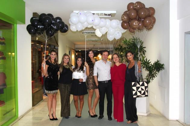 Os idealizadores do Moda & Beleza, Gabi Queiroz (Lilac), Dani Villanova, Bianca Gibbon, Arnalgo Gonçalves, entre as modelos