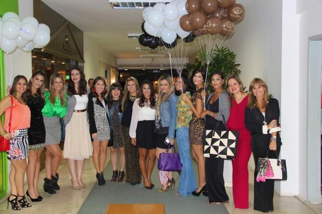 Agora foto com as blogueiras!