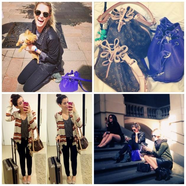 Registros dos Instagrams @garotasestupidas e @helenabordon