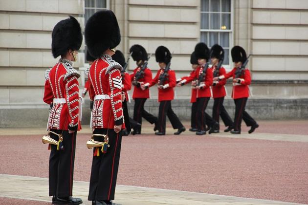 Os soldados ingleses