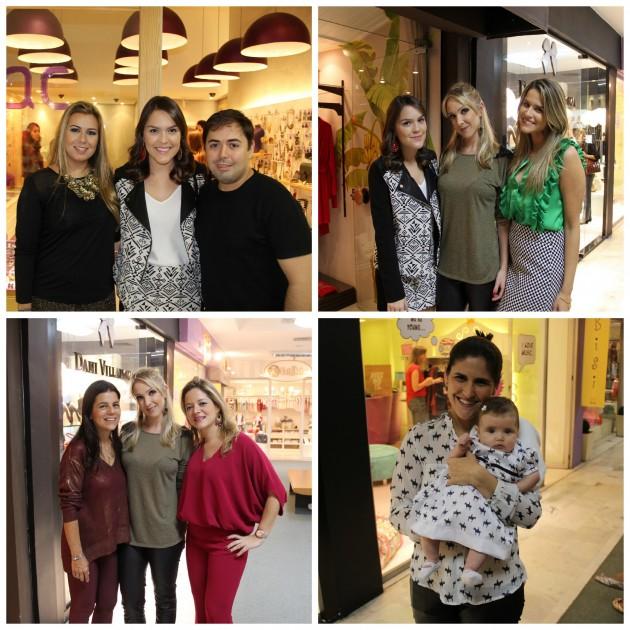 Eu com a dupla querida da Lilac (Gabi e Rafa Vidal), com a consultora de moda Clarisse Tedesco, Beleza Free, Tereza e Bianca Gibbon, e a princess Alice com mamãe Flavia Gibbon