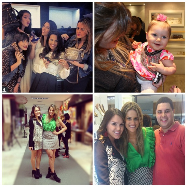 Dani Villanova se divertindo com as bloggers, baby Clhoé filha da DJ Scarlet, com minha amiga Beleza Free e Pablo Gomes (amo!)