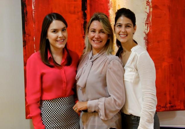 Eu com as queridas Lydia Dana e Vanessa Castro