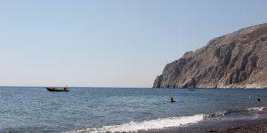 Praias em Santorini