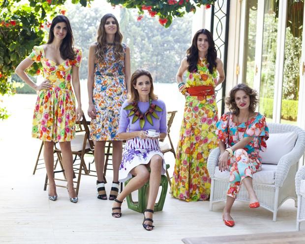 Foto da revista Vogue Brasil em uma matéria sobre a marca
