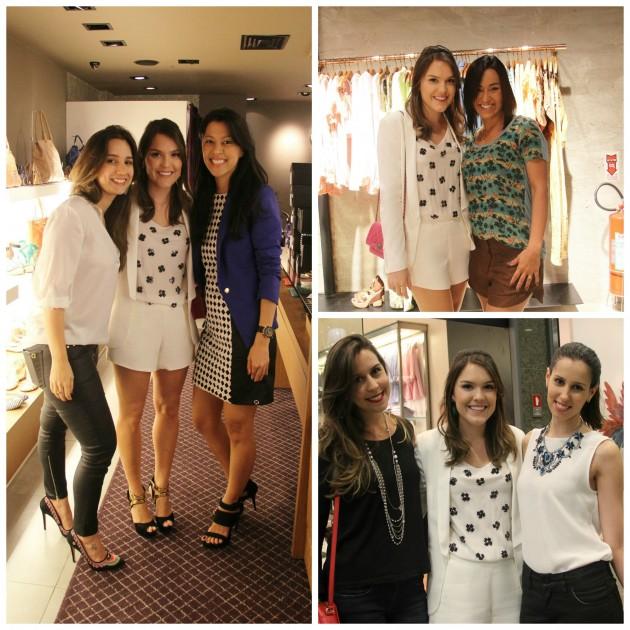 Lindas da Carmen Steffens RDB, Aline minha vendedora amada da A.Brand, e com as simpatias Bianca e Nanda