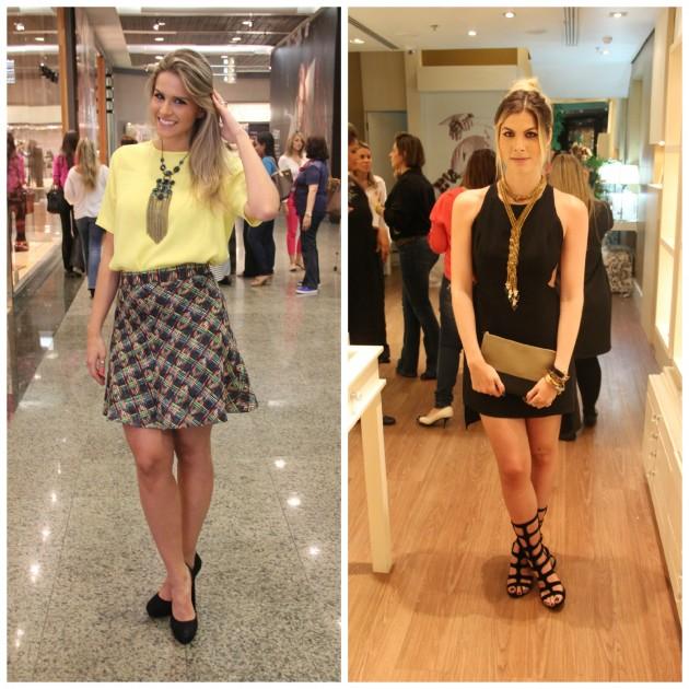 As bloggers Beleza Free e Júlia Faria