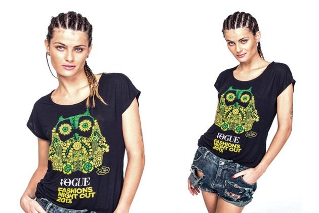 A modelo Isabelli Fontana é madrinha do FNO 2013