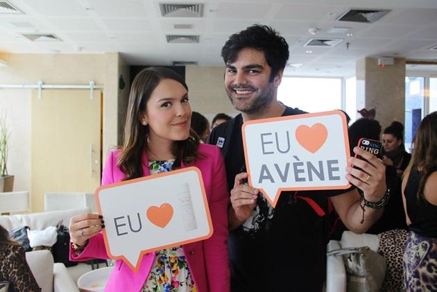 Com o querido blogger Capitão Zeferino. PS: declarando meu amor pela água termal da Avène