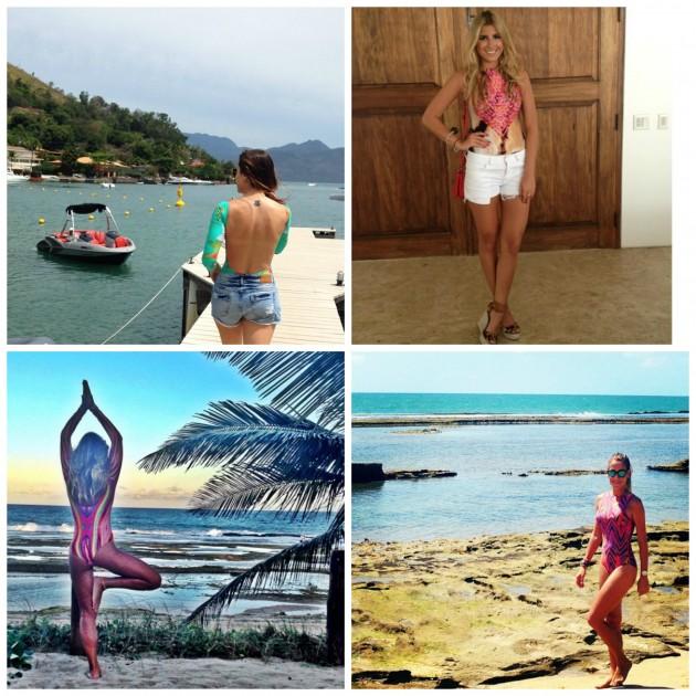 Looks reais com body: eu, Dandynha Barbosa, Gabriela Pugliese e Carol Buffara