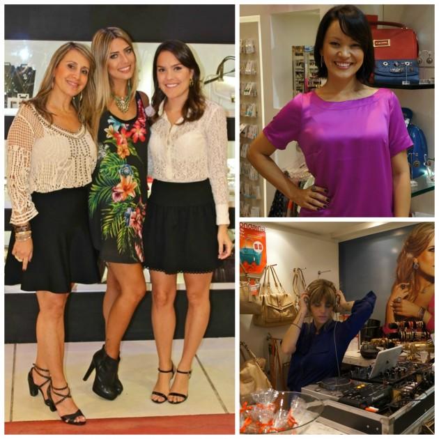 Com Regina Saada e Karina, a linda apresentadora Geovanna Tominaga, e DJ Scarlet