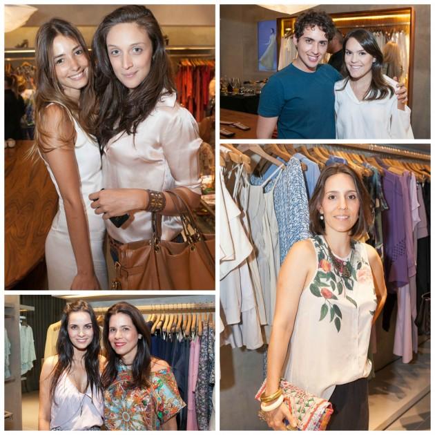 Rê Americano e Anna Medrado, eu com Alan Branco, Cris e Angela Hall, e Carolina Maluhy