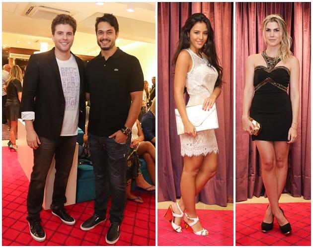 Os atores: Thiago Fragoso, Rafael Viana, Yanna Lavigne, e Júlia Faria