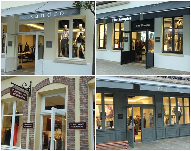 Algumas das marcas francesas, vale a visita