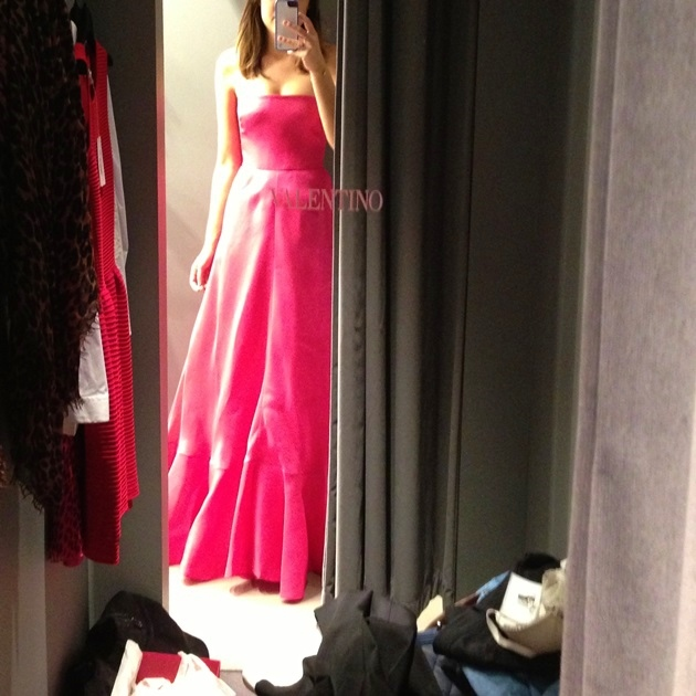 """O """"polêmico"""" vestido Valentino"""