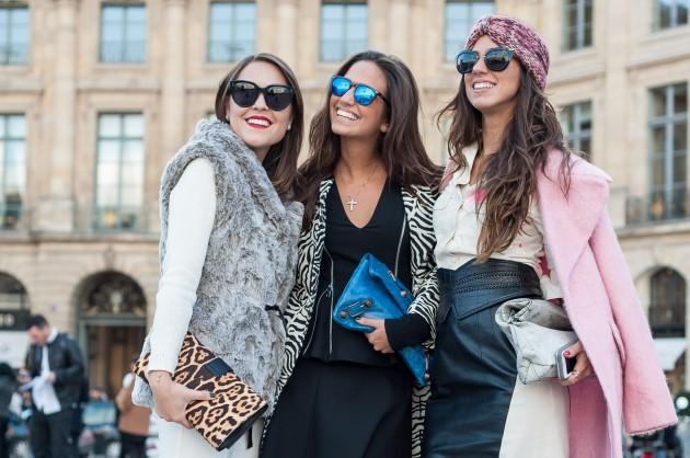 Com as irmãs Sobral, Alice e Luiza (blog The BOS)