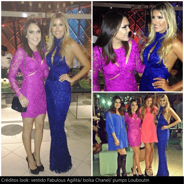 Com a bday girl Dandynha e as amigas Luiza D'Angelo e Inventando Moda