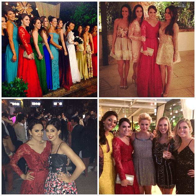 Madrinhas, família Vilela/Santos que eu amo, bff Isabela, e amigas