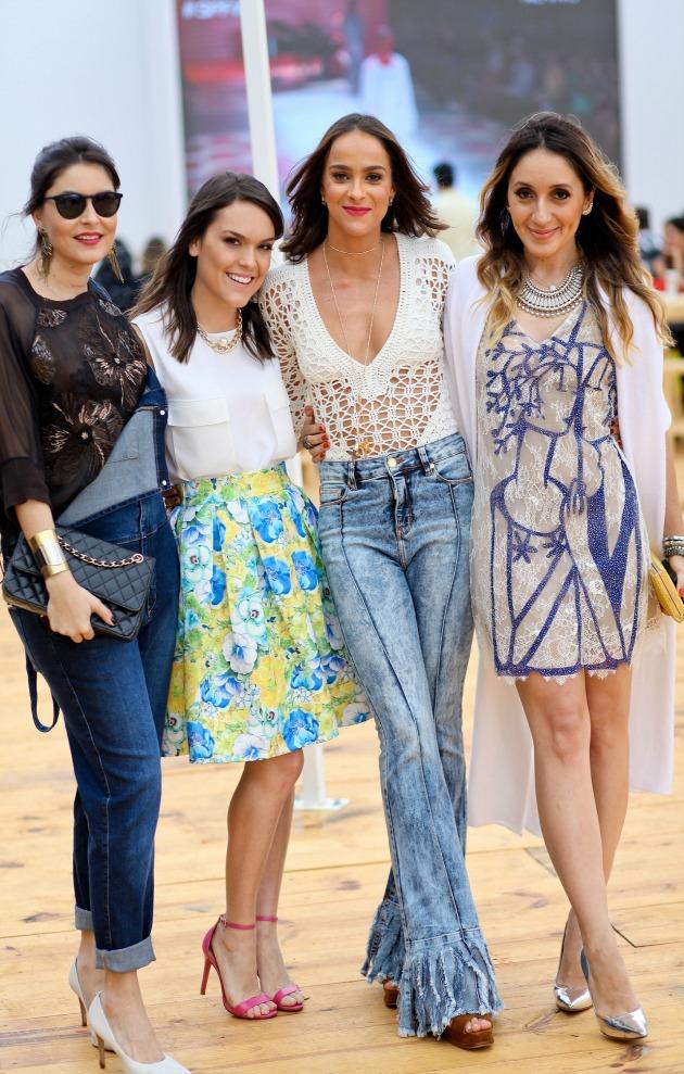 Com as queridas Camilla Marins, Letícia Cazarre e Erica Bourguignon