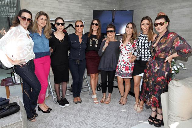 Evento de lançamento da iniciativa de venda da Shop2gether com a Vogue + as donas das marcas