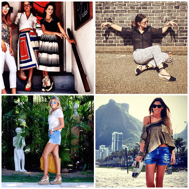 Joana Nolasco, Betina de Luca, Dandynha e Lu D'Angelo: algumas das fashionistas que aderiram