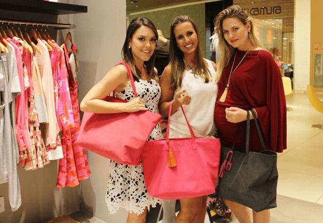 Trio #LariDuarteParaAmie: Bia da Amie e Gabi da Fabric & Co