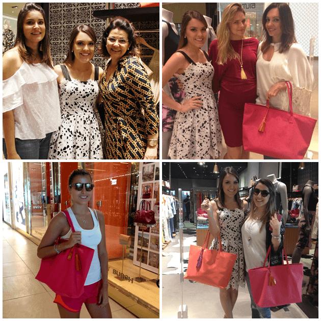 Camilla e Leila Marins, Gabi e Alanka Nasser, Dandynha Barbosa e Cá Villas