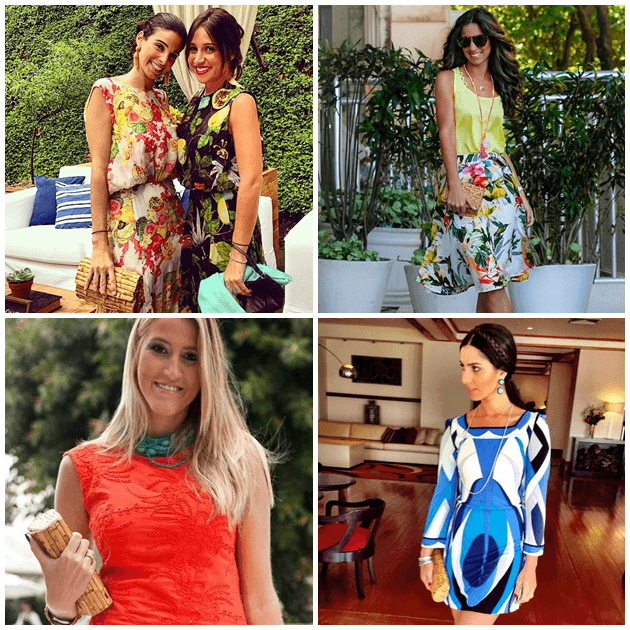 Elas usam: Celina de Paula Machado, Luiza Sobral, Fê Palhares e Nicole Pinheiro
