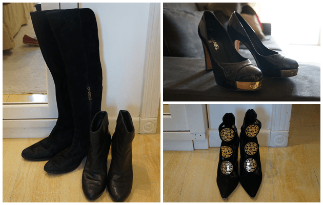 Sapatos: Schutz, Chanel e Mixed