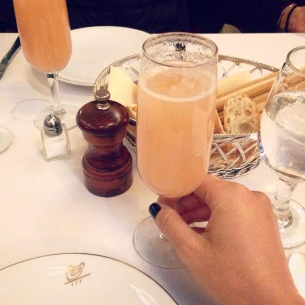 Cheers! Com Bellini, claro!