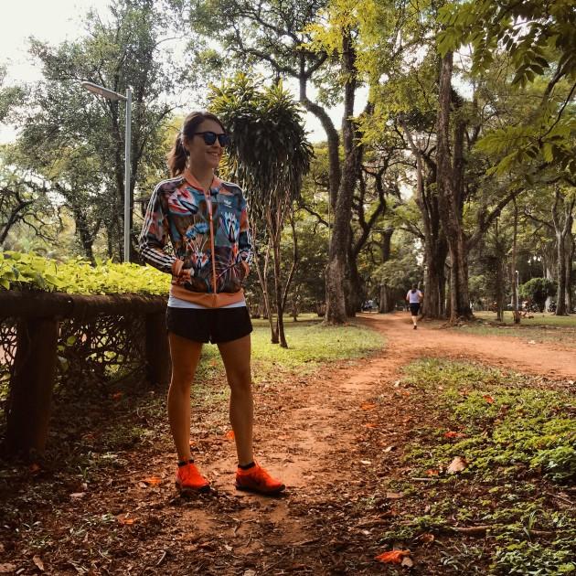 Look para correr no Parque Ibirapuera
