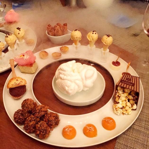 Olhem o festival de calorias que é a sobremesa