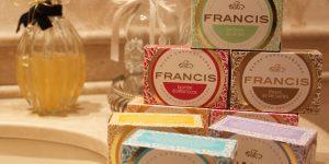 Sabonetes Francis de cara nova