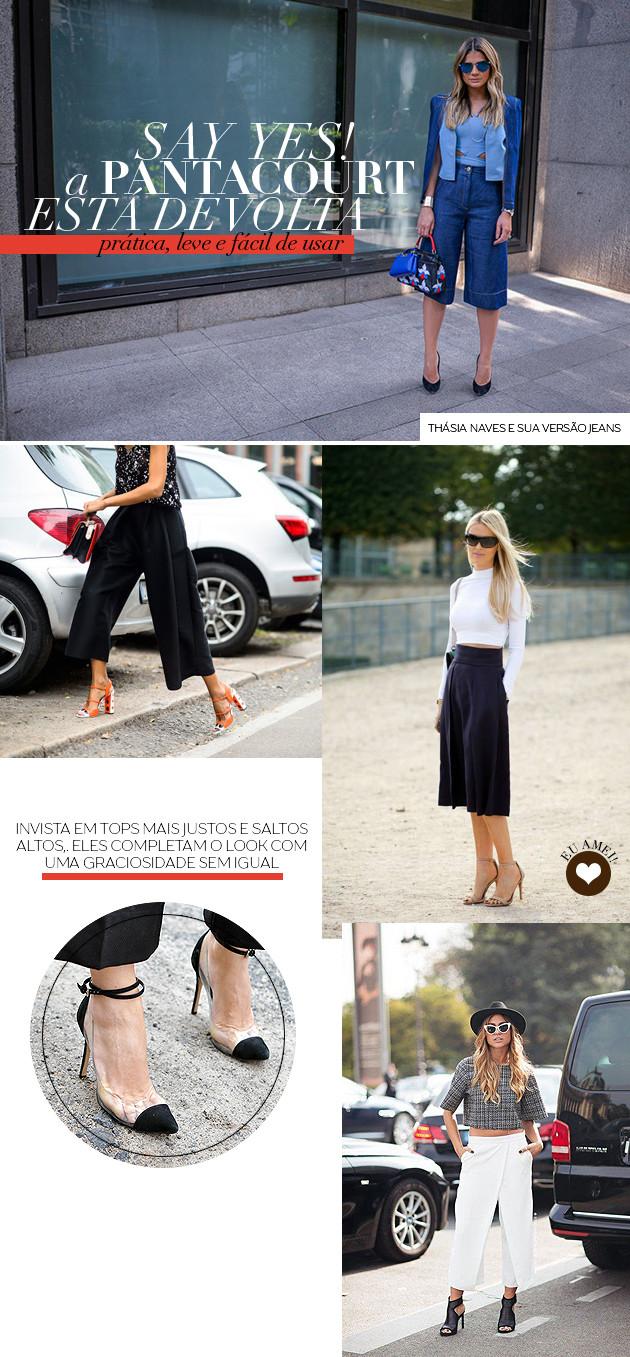 O que é calça Pantacourt? Como usar? Dicas de styling moda tudo sobre blog Lari Duarte