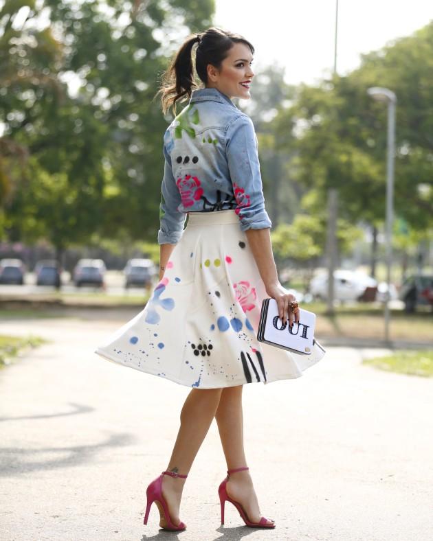 Look do dia SPFW Renata Campos inverno 2016 streetstyle quem passou Shoplixmix Lari Duarte blog beleza look moda
