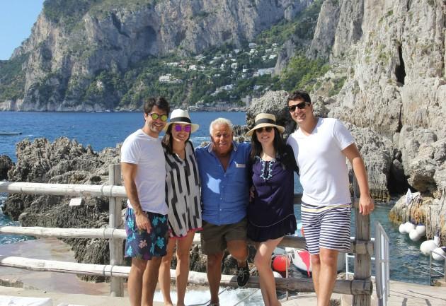 Passeio de barco em Capri programação como alugar tudo sobre passear de barco ilha italiana férias verão europeu Lari Duarte blog dicas de viagem luxo