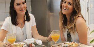 #LariEntrevista: receita de panqueca fit com Laila Coelho