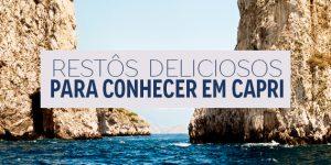 Onde comer em Capri?