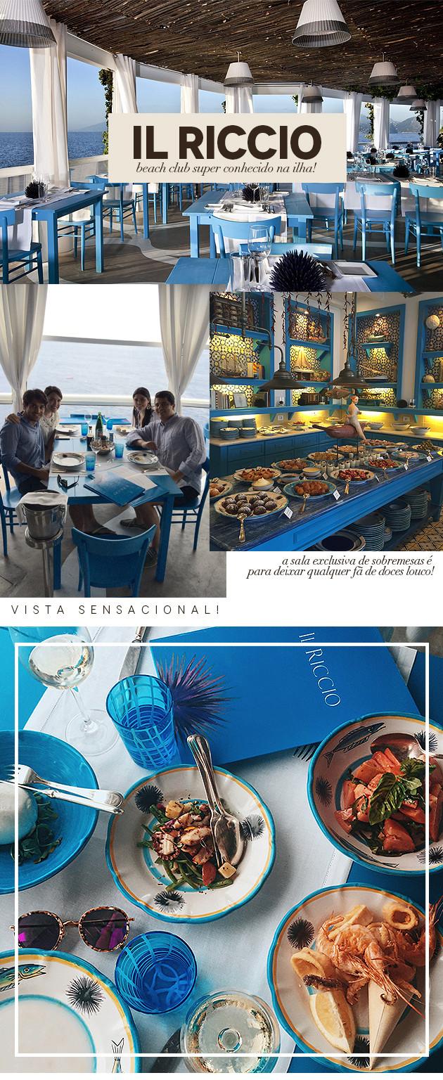 Dicas de restaurantes em Capri onde comer melhor preço tudo sobre blog Lari Duarte verão europeu