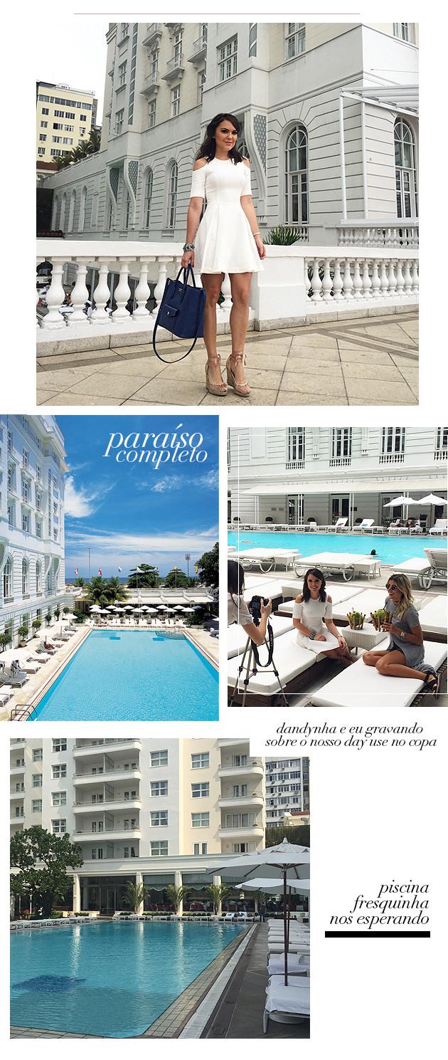 Day use Copacabana Palace como é valores tudo sobre blog Lari Duarte hospedagem no Rio